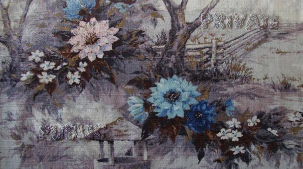 Public/Private: collaboration with found fabric